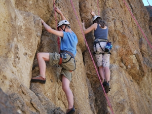 Outdoor-Rock-Climbing