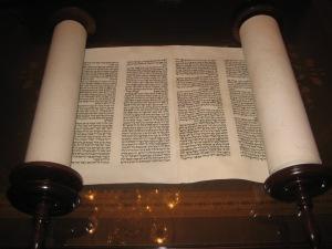 aa Torah scroll