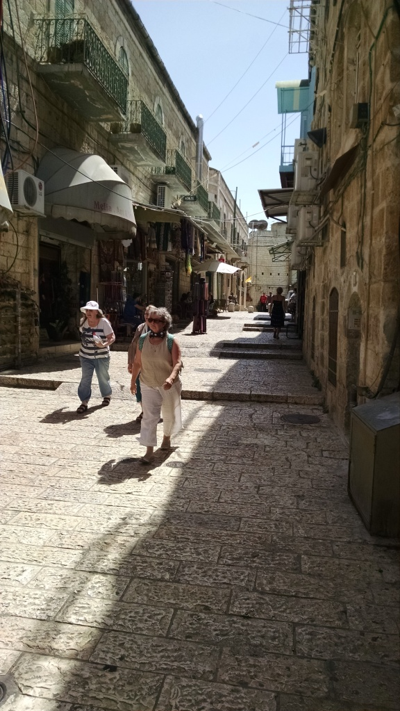 Parts of the Old City were crowded and bustling.  Other parts were quiet and serene.