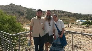 In shiloh at location of the Mishkan (Tabernacle) that stood for 369 years.