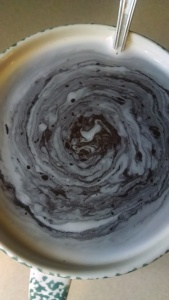Coffee 'n' cream...