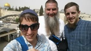 Selfie at the Western Wall
