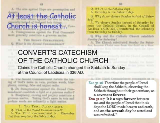 Catholic v Sabbath