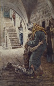 James Tissot, The Return of the Prodigal Son.